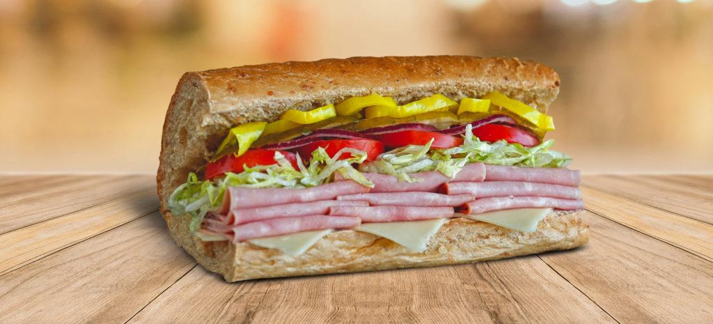 сэндвич-фастфуд