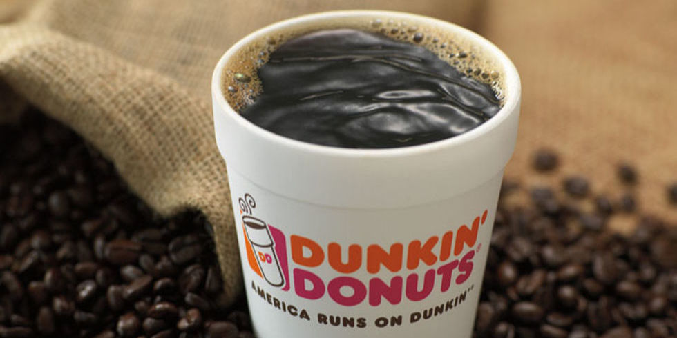 Dunkin кофе