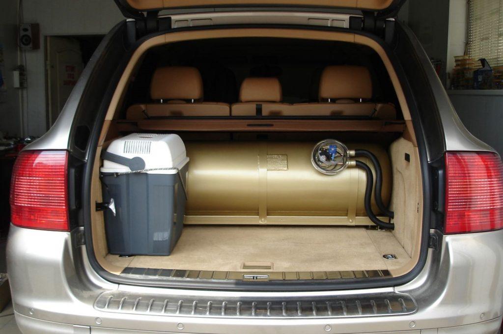 автомобиль на газовом топливе
