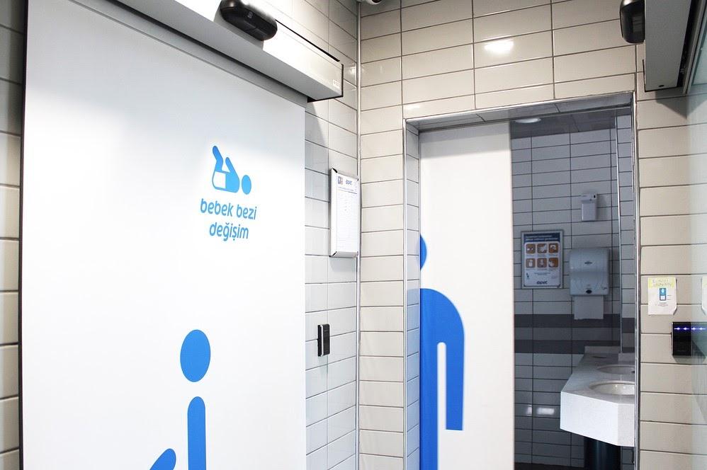 туалет на АЗС