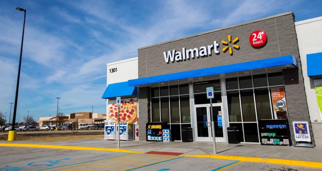 Walmart на АЗС в США